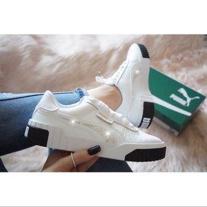 ⚡️Custom Bling Puma Cali Sneakers⚡️